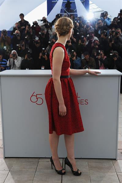 Sarah Gadon -  Antiviral  Photo Call at 65th Annual Cannes Film Festival - 20 May, 2012