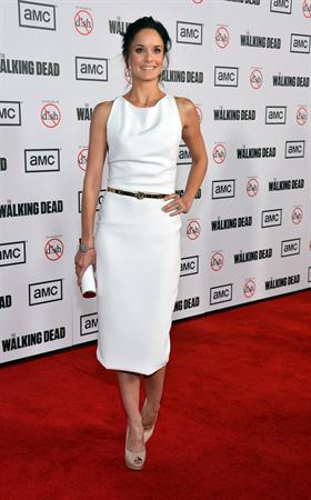 The Walking Dead premiere in Universal City - October 4, 2012