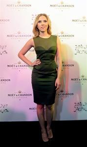 Scarlett Johansson Gala in Moscow celebrating 250 years of Moët & Chandon - 10/4/12