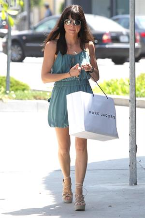 Selma Blair Shops Inside Marc Jacobs in Los Angeles - July 30, 2012