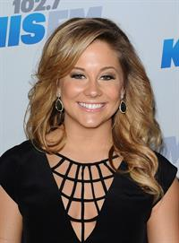 Shawn Johnson 2012 KISS FM Jingle Ball Night 1