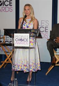Kaley Cuoco at the People's Choice Awards Nomination Announcements - Los Angeles - November 15, 2012