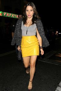 Sophia Bush Leaving the Sayer's club in Hollywood - November 3, 2012