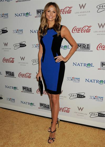 Stacy Keibler Hosts  Gold Meets Golden , 12 Jan 2013