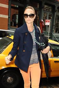 Stacy Keibler Shopping in SoHo in New York - October 9, 2012