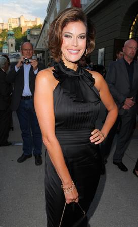 Teri Hatcher - Arrives for a Concert Salzburg Festival July 30, 2012