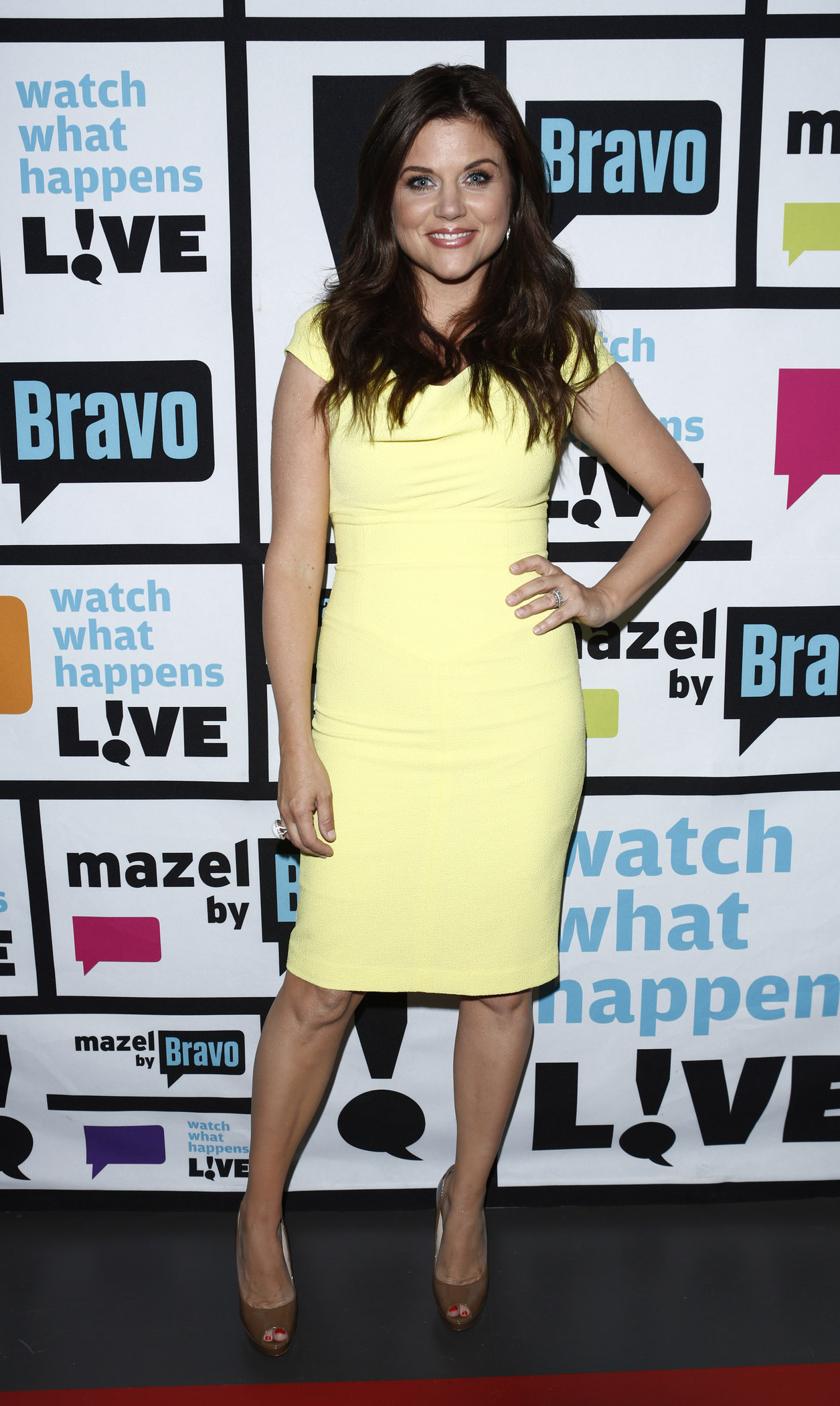 Tiffani Amber Thiessen - Watch What Happens Live Season 7 - Episode 718 (July 17, 2012)