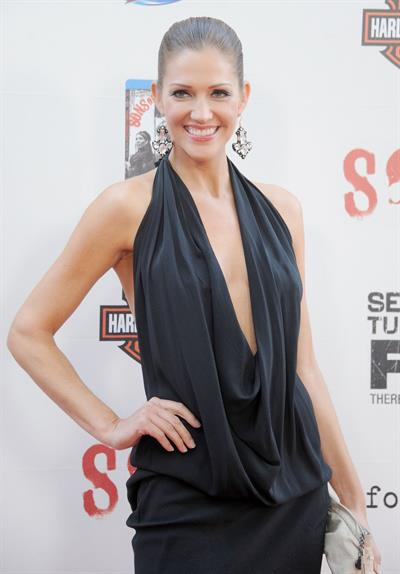 Tricia Helfer - Sons of Anarchy Season 5 Premiere Screening (September 8, 2012)