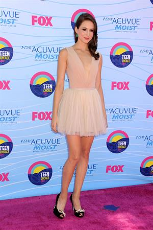 Troian Belisario - 2012 Teen Choice Awards in Universal City (July 22, 2012)