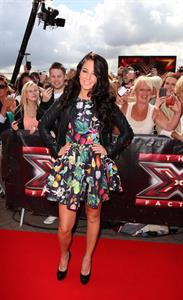 Tulisa Contostavlos - Red Carpet Arrivals For The X Factor Judges Auditions In Manchester (June 6, 2012)
