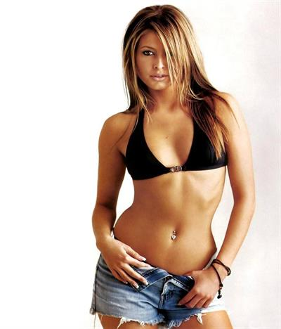 Holly Valance in a bikini