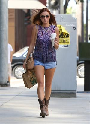 Una Healy out and about in Los Angeles Sept 29, 2012