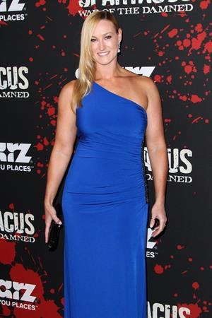 Vanessa Cater Spartacus War of the Damned Los Angeles Premiere (January 22, 2013)