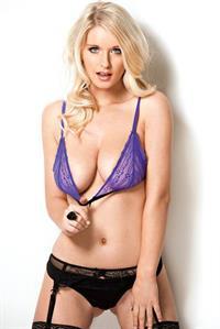 Jess Davies in lingerie