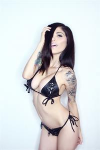 Cami Li in a bikini