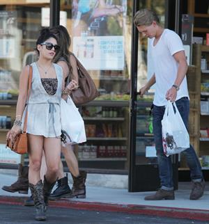 Vanessa Hudgens Studio City Candids June 8th 2012