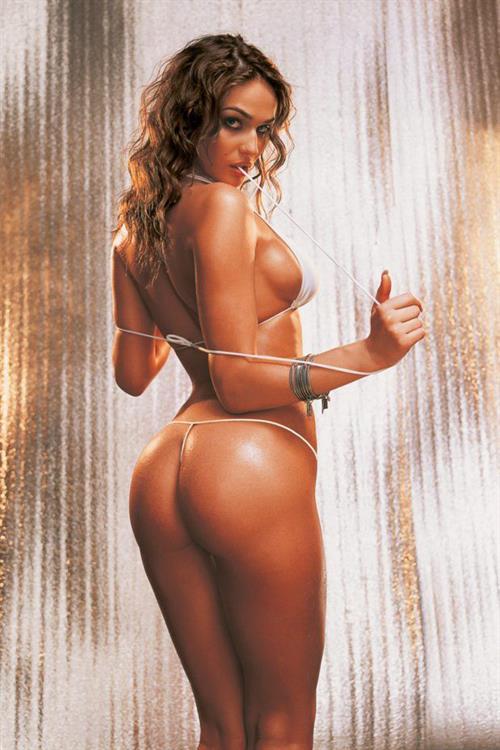 Alena Vodonaeva in a bikini - ass