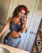 Rosie Mac taking a selfie