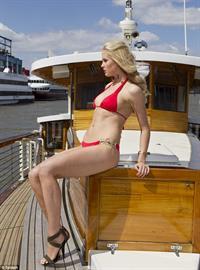 Ireland Baldwin in a bikini