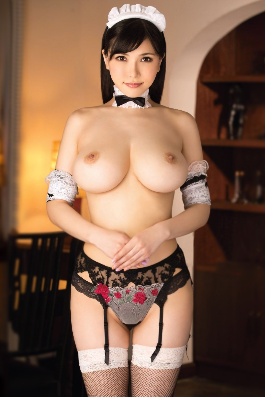 Anri okita gif street fighter cosplay tits