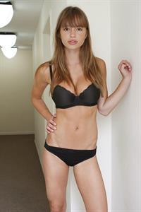 Tereza Kačerová in lingerie