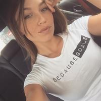 Nicole Mejia taking a selfie