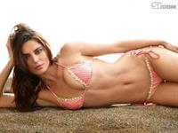 Catrinel Menghia in a bikini