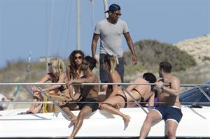 Nicole Scherzinger in a bikini in Ibiza on August 31, 2014