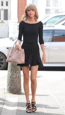 Taylor Swift out and about in London September 03, 2014
