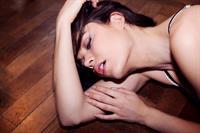 Aarika Wolf in lingerie