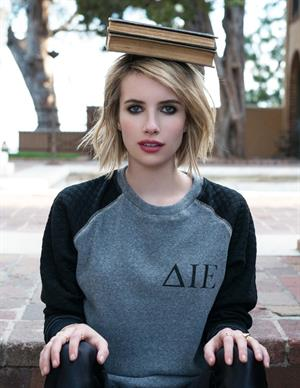 Emma Roberts Elkin Fall Winter Photoshoot 2014