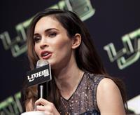 Megan Fox Teenage Mutant Ninja Turtles, press conference in Seoul August 27, 2014