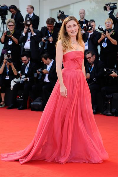 Julie Gayet at the Birdman premiere opening the 71st International Venice Film Festival August 27, 2014