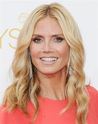 Heidi Klum at the 66th annual Primetime Emmy Awards, August 25, 2014