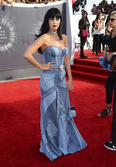 Katy Perry at the MTV Video Music Awards Aug. 24, 2014