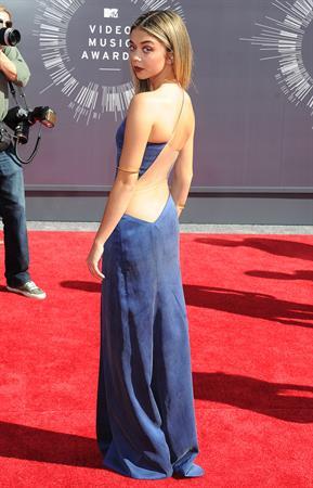 Sarah Hyland at 2014 MTV Video Music Awards, Inglewood August