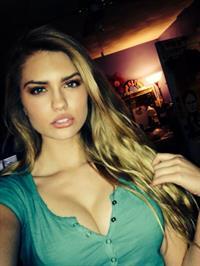 Alexandria Morgan taking a selfie