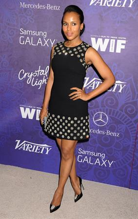 Kerry Washington Variety and Women in Film Emmy Nominee Celebration, LA August 2014