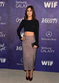 Lizzy Caplan Variety and Women in Film Emmy Nominee Celebration, LA August 23, 2014