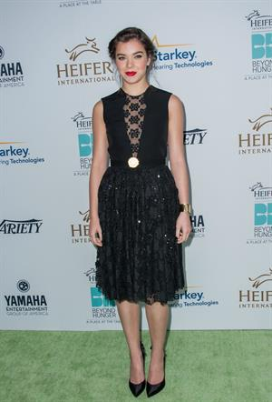 Hailee Steinfeld 3rd Annual Beyond Hunger: A Place At The Table Gala August 22, 2014