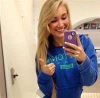Anna Faith Carlson taking a selfie