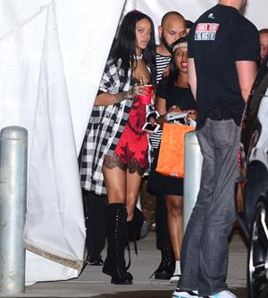 Rihanna arriving at VIP Nightclub August 18, 2014