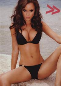 Rosie Jones in a bikini