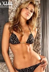 Candace Kroslak in a bikini