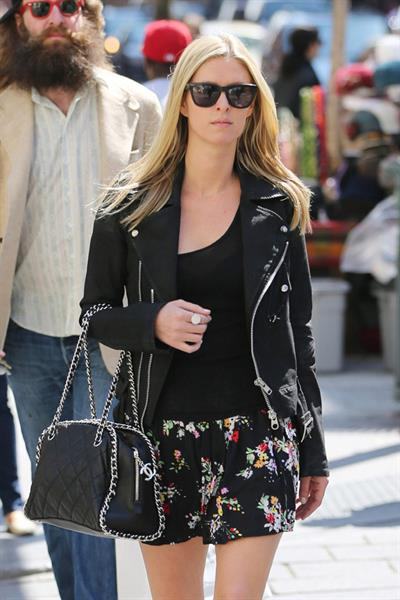 Nicky Hilton spotted out and about in New York City April 8, 2013