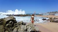 Rachel Annamarie DeMita in a bikini