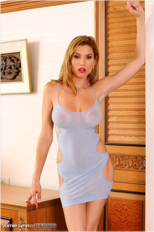 Jamie Lynn in lingerie - breasts