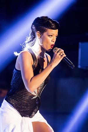 Rihanna Performing during 777 Tour in Berlin, Germany (November 18, 2012)