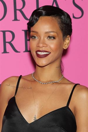 Rihanna - 2012 Victoria's Secret Fashion Show Pink Carpet