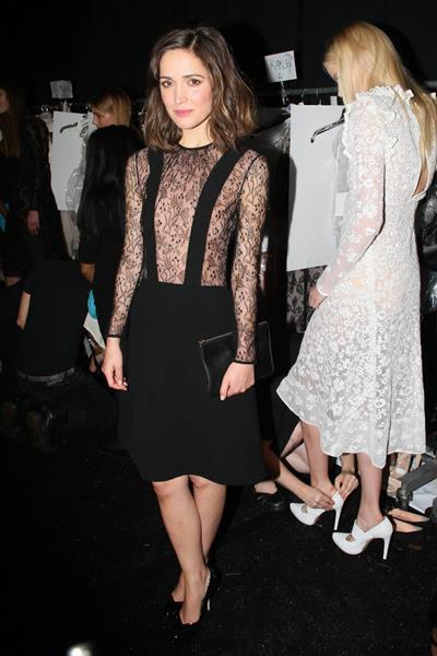 Rose Byrne - Jill Stuart fashion show in New York - September 8, 2012